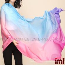 Women's Pattern Printing Oversize 100% Wool Scarf
