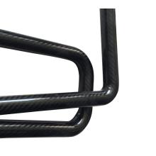Tubo de barra de flotador trenzado de fibra de carbono de 12 * 10 * 500 mm