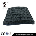 2015 new design square style comfortable 100% cotton knitted pillow