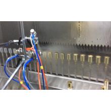 Spritzlackierlinie für Kunststoffprodukte