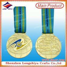 Award Gedenk Gold Champion Metall Medaille