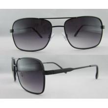 Nuevo plástico con gafas de sol del templo del metal Precio al por mayor 263127