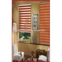2015 haute qualité double couche Zebra rideau et zèbre rouleau ombre