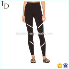 Estiramento ajuste quente yoga calças oem mulheres legging cintura alta