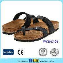 Zapatillas de encargo del OEM de Cork de alta calidad