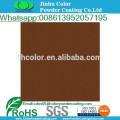 electrostatic Metallic brown powder coating
