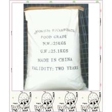 Bicarbonato de amonio para hacer bulbo esmerilado