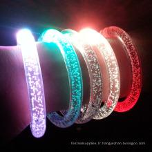 acrylique led nouvel an bracelet