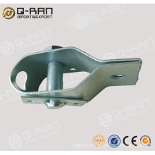 Steel wire rope tensioner, fencing wire tensioner
