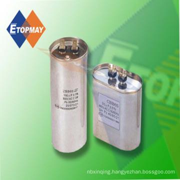 8UF 450VAC Cbb65 Metal Can Polypropylene Film Capacitor