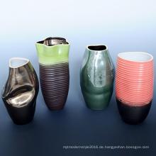 Bunte Großhandel für Haus Decoratioin Blume Pflanze Vasen (A08056)