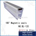 glass shower door plastic for 135 degree -180 degree