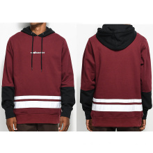 The Hundreds Crane Burgundy Loose Hoodie