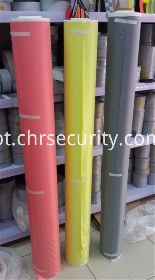 COLOURFUL REFLECTIVE FABRIC LONG ROLL