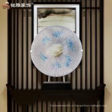 Интерьер круглый украшения абстрактная скульптура для офиса