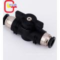 BUC Schnellkupplungs-Handventil-Pneumatikanschlüsse aus Kunststoff