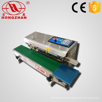 Kontinuierlichen Typ Multi-funktionale Band Sealer Maschine weiter Abdichtung Maschinen mit Print für Verpackungsfilm