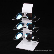 Retail Eyewear Display Stand with 3 Tiers, Acrylic Sunglasses Display