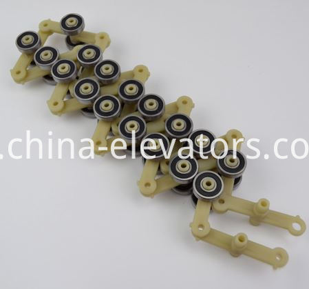 Schindler Escalator Rotating Chain 17 pair rollers Single Fork