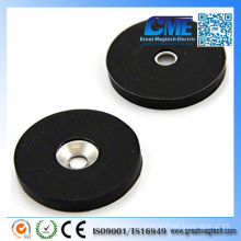 N42 Rare Earth Rubber Coating Magnets