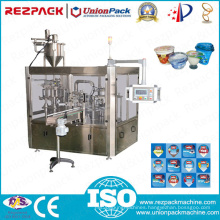 Rotary Plastic Double Cup Filling & Sealing Machine (RZ-2R)