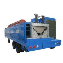 SX-ACM-914-610 k q span arch steel sheet roof PPGI warehouse roll forming machine
