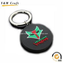Hochwertige Werbe Gummi Keychain Custom Ym1128