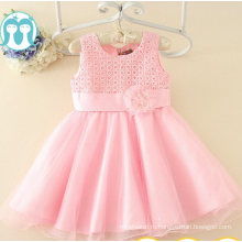 дети розовый платья партии Оптовая цена торговое обеспечение фабрика детские платья оптовик коллекции детская одежда партии