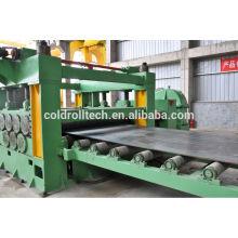 Stahlspule Schnitt zur Länge Maschine