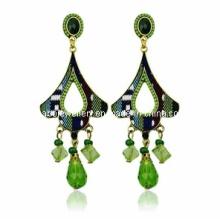 Trendy Bohemia Style Resin Stone Earring (XER13083)