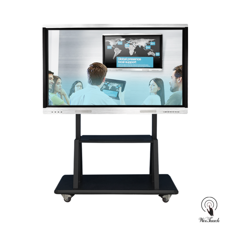 75 Touch Screen Display Cheap with mobile stand