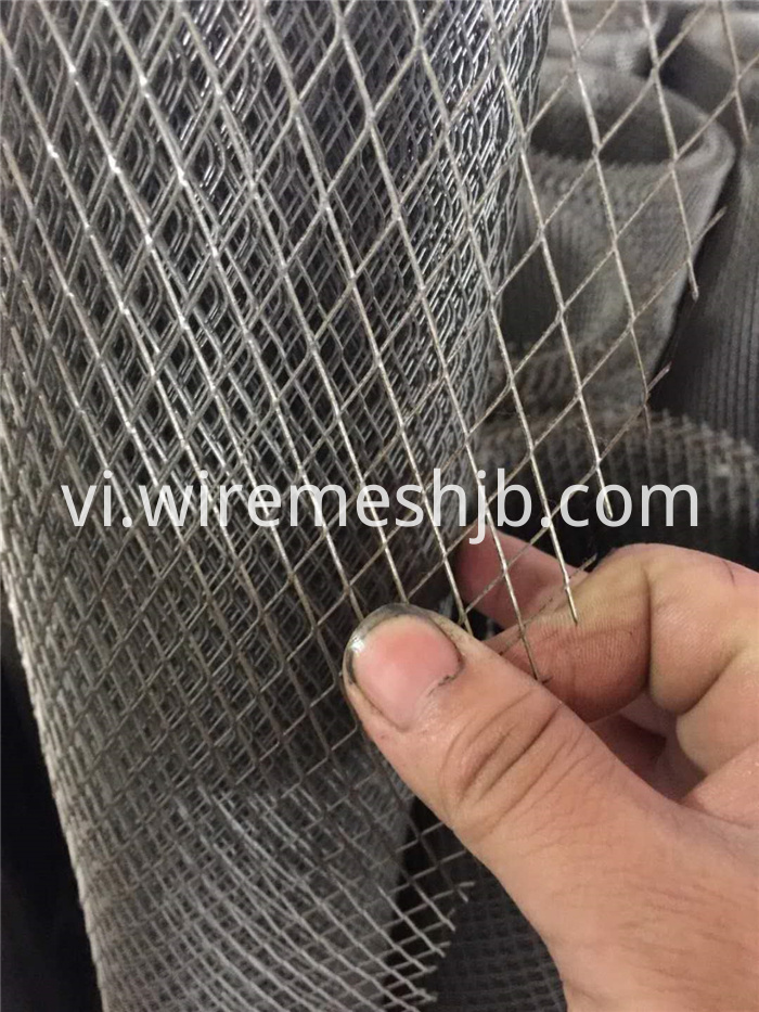 Hot Dipped Galvanized Expanded Metal Mesh