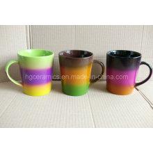 Taza del arco iris, taza del color del arco iris