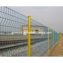 PVC Coated Powder Coated Galvanized Metal Wire Mesh Fencing