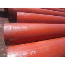 ASTM A106 carbone soudés acier tuyau ou tube API haute pression huile laminés à chaud