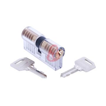 Serrure à cylindre transparente avec 5 épingles