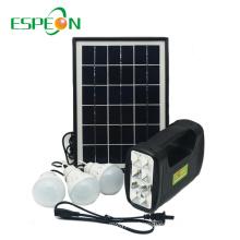 Espeon New Model Portable Black Poly Panel Mini Home Solar Power System