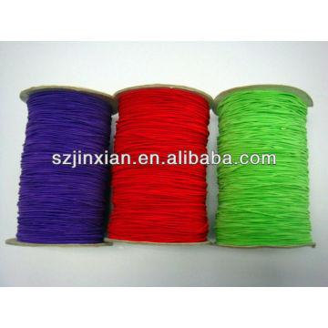 Cable / cuerda elástico de goma elástico coloreado 5m m