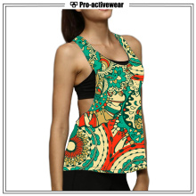 Women Colorful Open Side Activewear Wholesale Tank Top