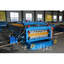Panel Rib And Panel Double Layer Machine For Roofing