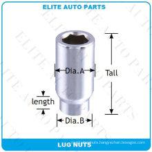 6 Point Tuner Acorn Et Lug Nut for Car Wheel