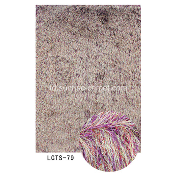 Karpet Shaggy Elastic & Silk Mix