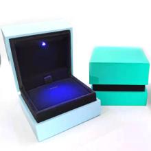 Brothersbox Professional custom purple gift box luxury plastic jewellery storage boxes led large jewelry box
