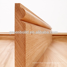 Wood Skirting Board for Solid Wood Flooring