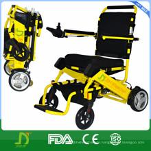 Leichtes Aluminium Falten Elektrischer Elektrischer Rollstuhl