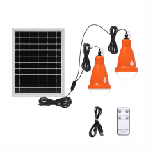 Portable Led Solar Bulb Lights with Remote Controller