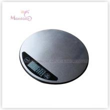 Échelle électronique de cuisine de vente chaude de 3kg S / S (20 * 1.6cm)