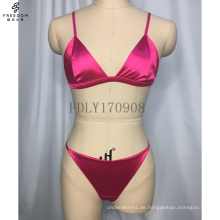 Benutzerdefinierte Encaje Sexy Dessous Mesh Plu Größe Dreieck Großhandel Frau Bh Frauen Satin Hohe Qualität Bralette
