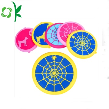 Spider-wed Silicone Traning Dog Đồ chơi Pet Chew Frisbee
