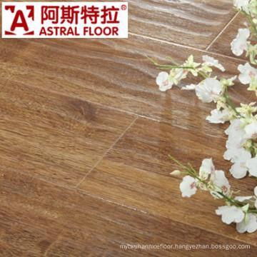 2014 Changzhou Manufacturers Wave Embossed Laminate Flooring (AB9998)